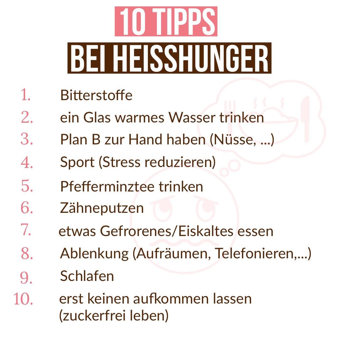 diese Tipps helfen bei Heißhunger