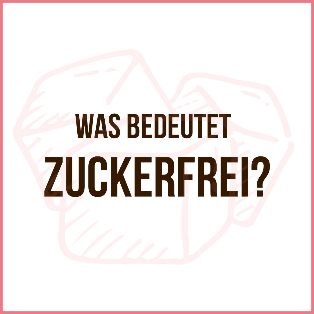 Zuckerfrei definition